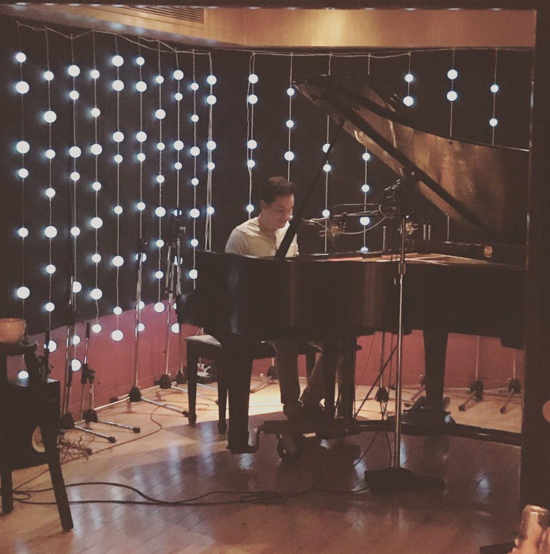 David Archuleta at the piano cymba publishing credit cymbamusic twitter @cymbamusic
