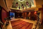 The inside of the Moroccan Room in the Orange Lounge Music Studio