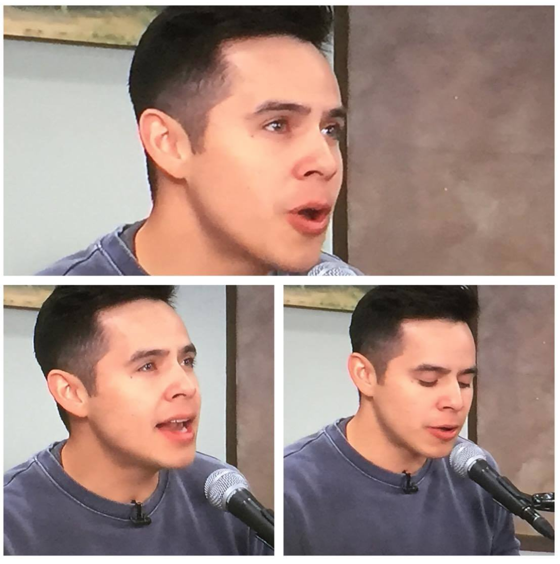 Good Things Utah in studio David Archuleta credit Shirley Cook