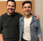 David Archuleta with Taylor Hartley