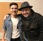 David Archuleta with Dustin Christiansen