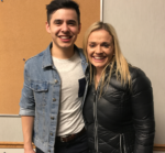 David Archuleta with Camille Nelson