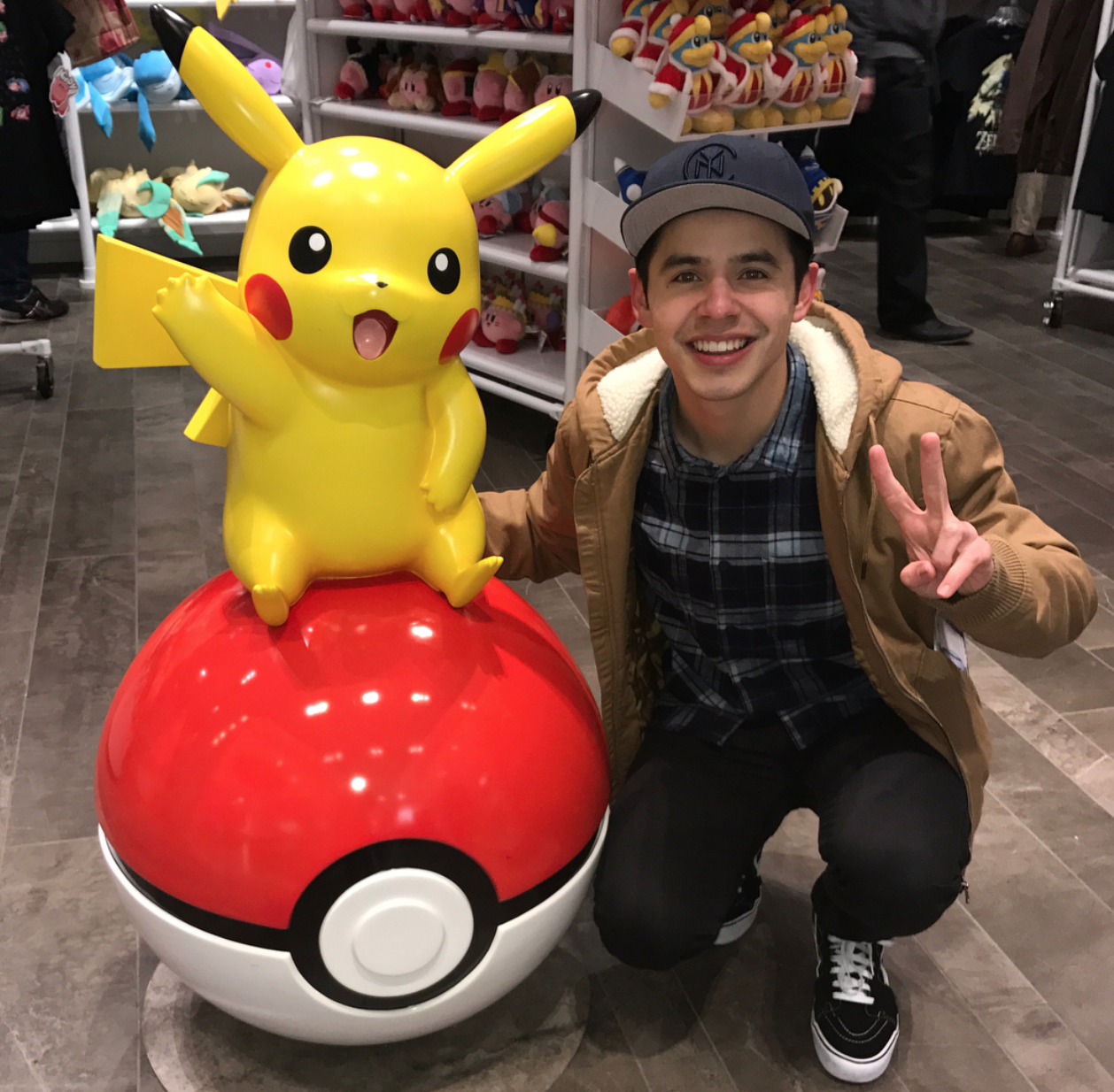 David Archuleta - NYC- Nintendo Store 12-13-2017 credit David
