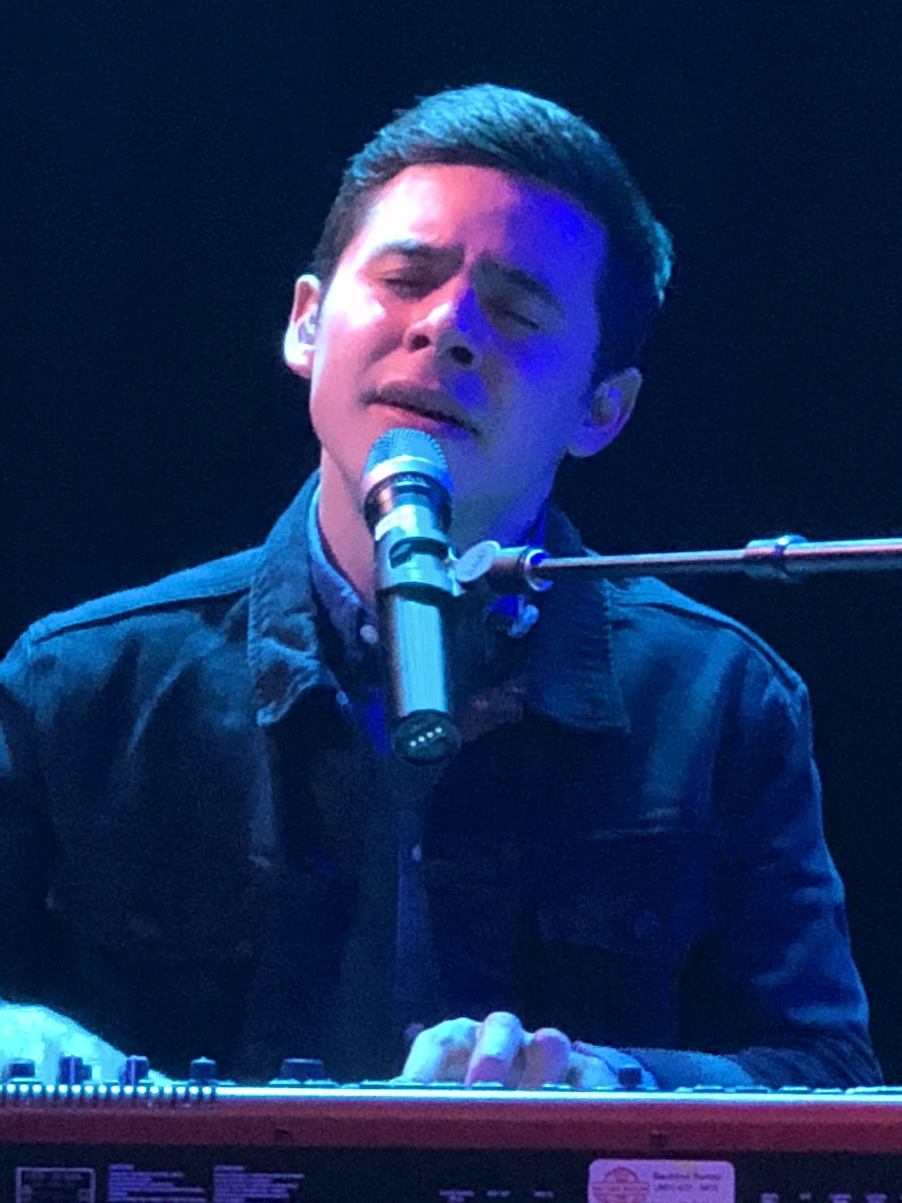 Image result for david archuleta in concert