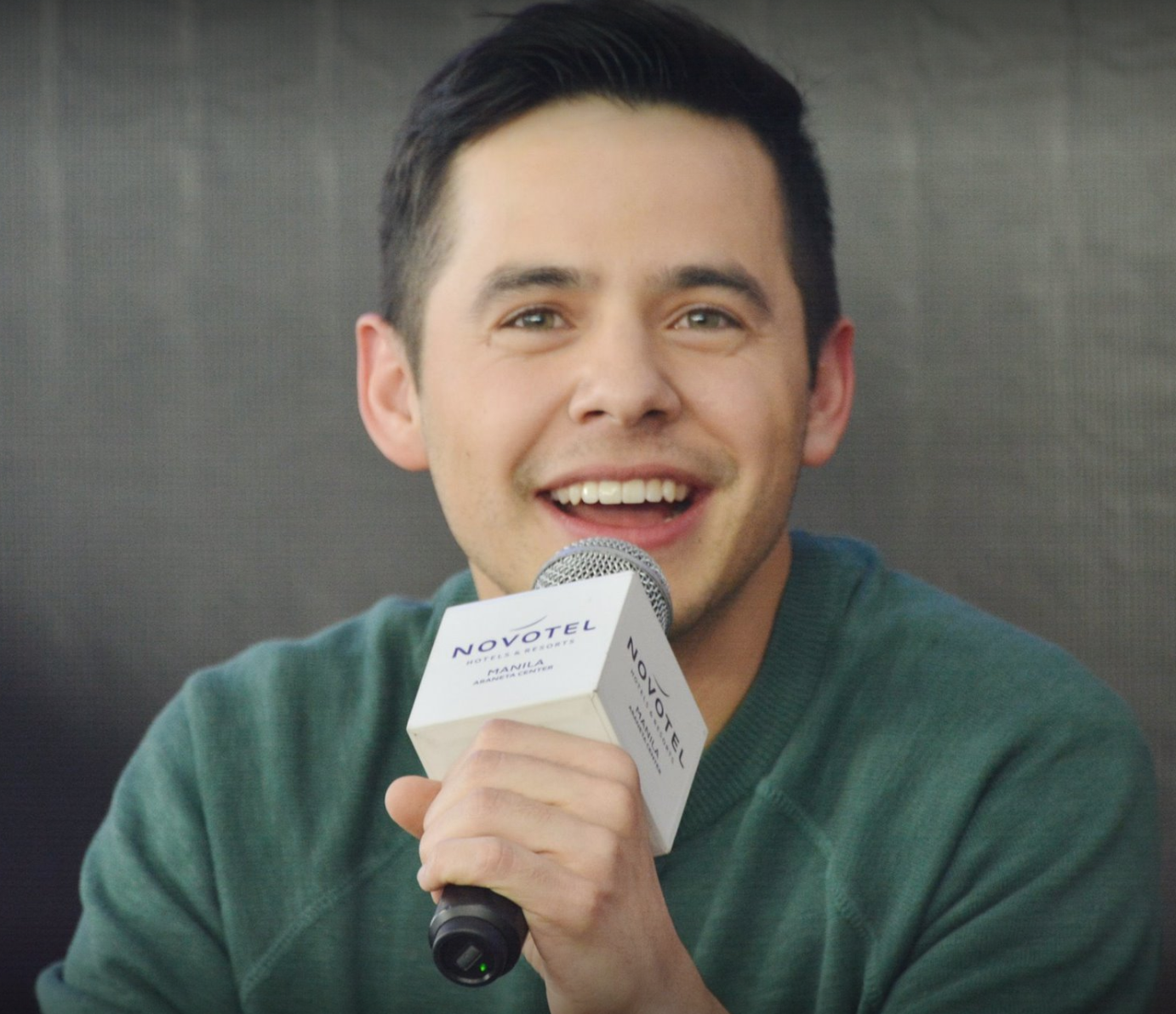 Archuleta Philippnes press conference photo 2018