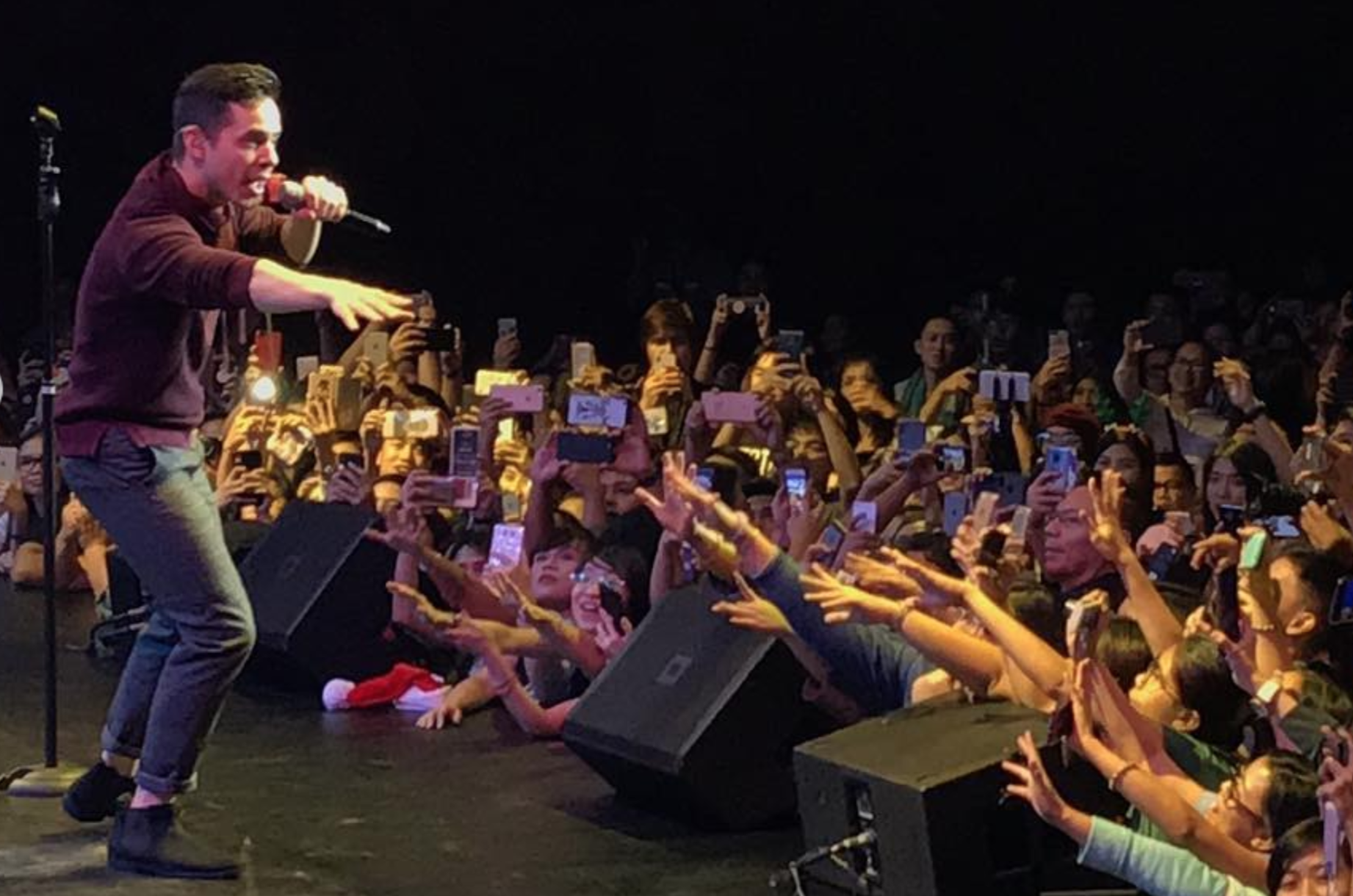 David Archuleta -Manila-Frintier theater-Crowd